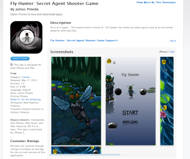 FLYHUNTER_PUBLISHED