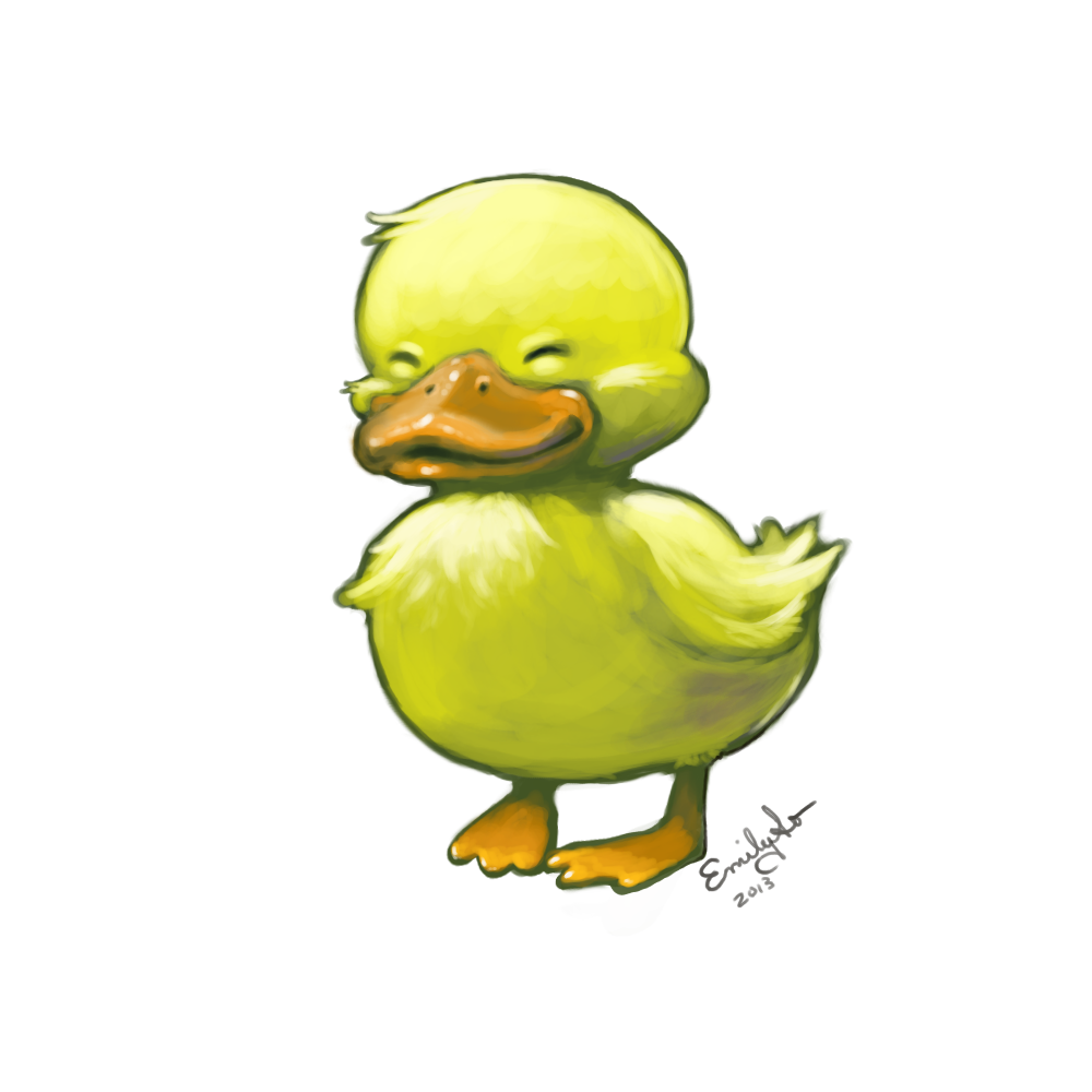 I just wanted to draw a duck. | Emily So